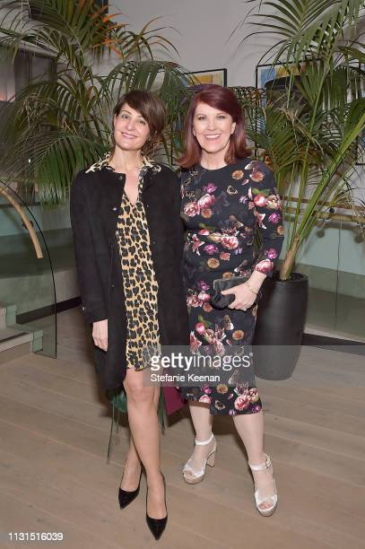 Nia Vardalos and Kate Flannery attend 12th Annual Women in Film Oscar Nominees Party Presented by Max Mara with additional support from Chloe Wine...