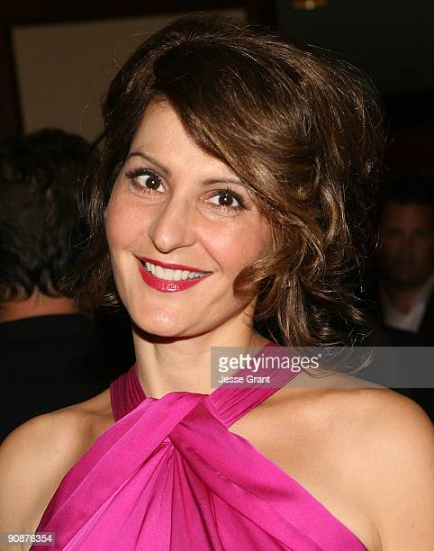 Nia Vardalos arrives at The National Mutliple Sclerosis Society's 35th Annual Dinner Of Champions at the Hyatt Regency Century Plaza Hotel on...