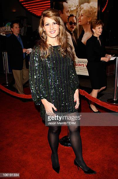 """Nia Vardalos arrives to the premiere of Universal Pictures' """"Charlie Wilson's War"""" at City Walk Cinemas on December 10, 2007 in Universal City,..."""
