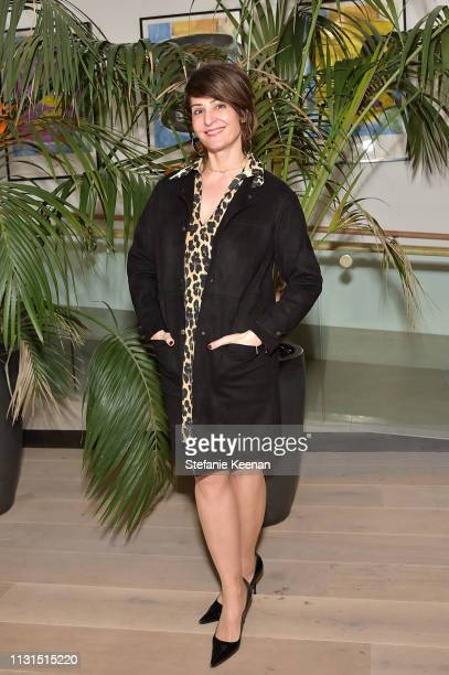 Nia Vardalos attends 12th Annual Women in Film Oscar Nominees Party Presented by Max Mara with additional support from Chloe Wine Collection, Stella...