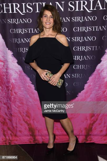 Nia Vardalos attends Christian Siriano celebrates the release of his book 'Dresses To Dream About' at the Rizzoli Flagship Store on November 8 2017...