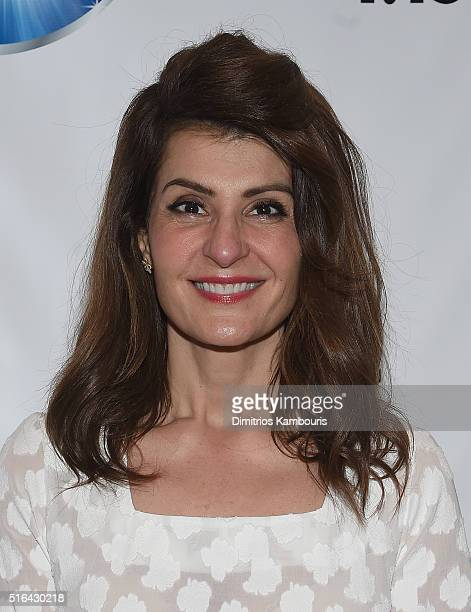 Nia Vardalos attends the Mamarazzi Screening Of My Big Fat Greek Wedding 2 on March 18 2016 in New York City
