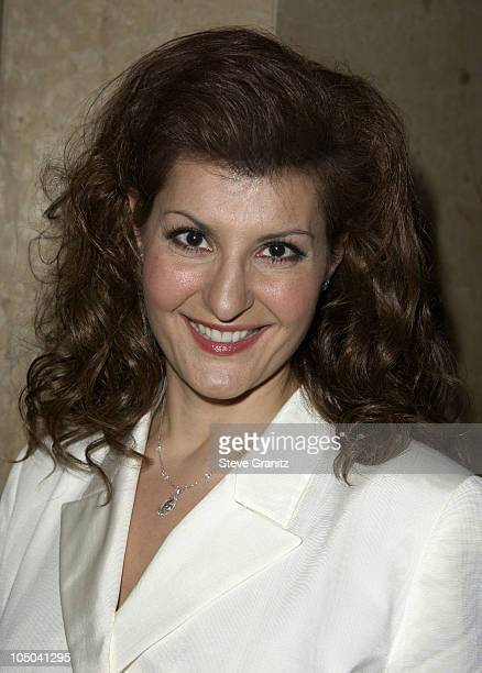 Nia Vardalos during 55th Annual Writers Guild of America West Awards - Arrivals at Beverly Hilton Hotel in Beverly Hills, California, United States.