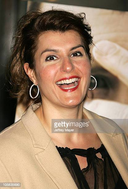 """Nia Vardalos during """"Big Love"""" Los Angeles Premiere - Arrivals at Grauman's Chinese Theatre in Hollywood, California, United States."""