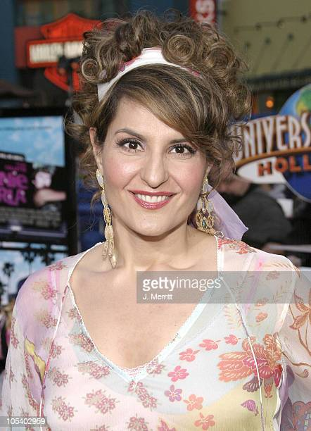 Nia Vardalos during Connie and Carla World Premiere at Universal Studios Cinema in Universal City California United States