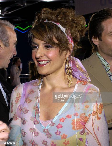 "Nia Vardalos during ""Connie and Carla"" World Premiere - Red Carpet at Universal Studios Cinema in Universal City, California, United States."