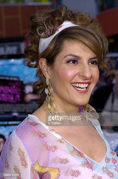Nia Vardalos during Connie and Carla World Premiere Red Carpet at Universal Studios Cinema in Universal City California United States