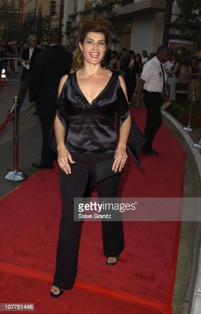 """Nia Vardalos during """"Elf"""" Special Screening - Los Angeles at The Grove Theater in Los Angeles, California, United States."""