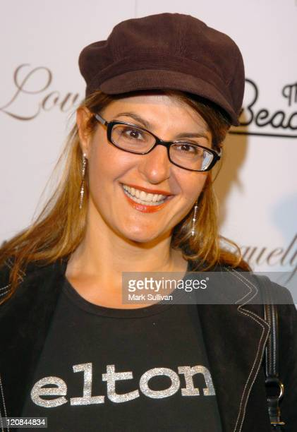 """Nia Vardalos during """"Fashion for Passion"""" Featuring the Beach Boys - Arrivals at The Cabana Club in Hollywood, California, United States."""