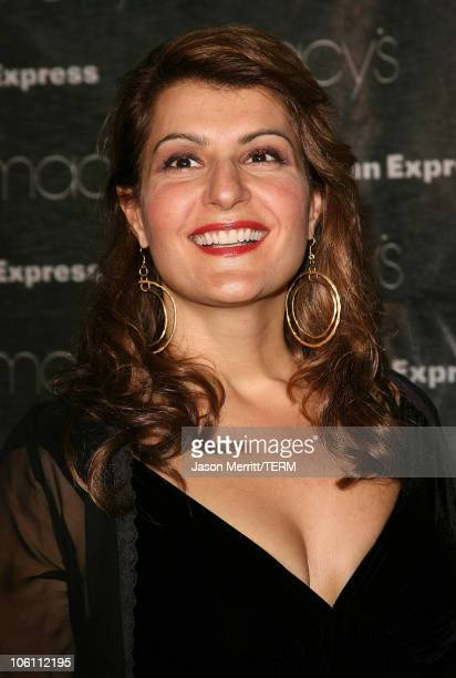 Nia Vardalos during Macy's Passport Gala 2006 Arrivals at Barker Hanger in Santa Monica California United States