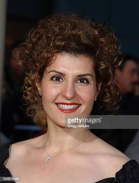 Nia Vardalos during My Big Fat Greek Wedding Hollywood Premiere at ArcLight Theatre in Hollywood California United States