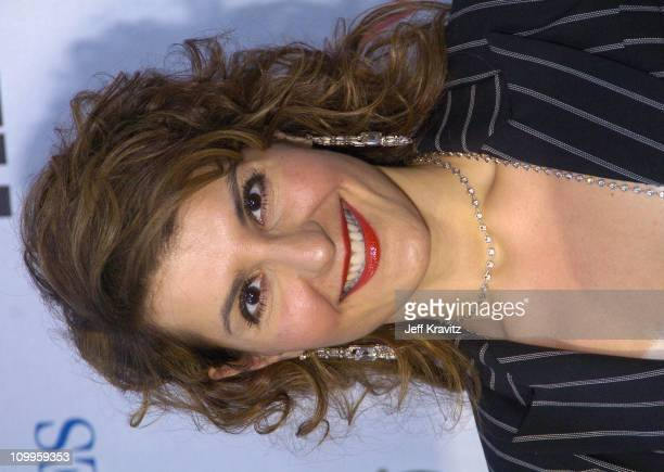 Nia Vardalos during NRDC's Earth To LA The Greatest Show On Earth Arrivals at Wadsworth Theater in Los Angeles California United States