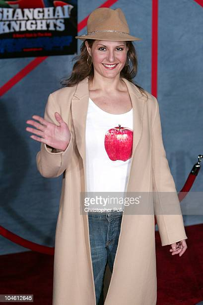 "Nia Vardalos during ""Shanghai Knights"" Hollywood Premiere at El Capitan Theatre in Hollywood, CA, United States."