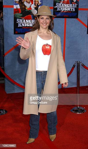 """Nia Vardalos during """"Shanghai Knights"""" Premiere - Hollywood at The El Capitan Theatre in Hollywood, California, United States."""