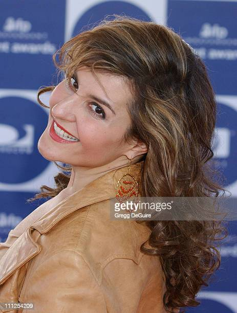 Nia Vardalos during The 19th Annual IFP Independent Spirit Awards Arrivals at Santa Monica Pier in Santa Monica California United States