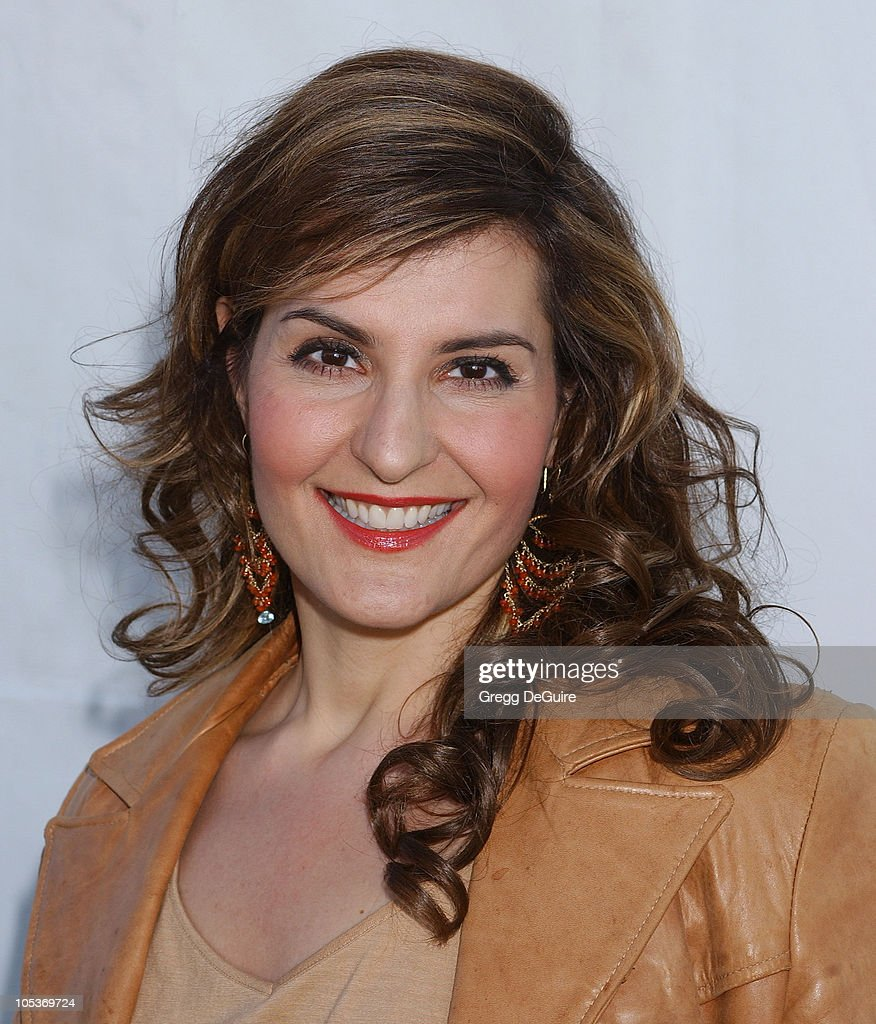 Nia Vardalos during The 19th Annual IFP Independent Spirit Awards - Audience and Backstage at Santa Monica Pier in Santa Monica, California, United States.