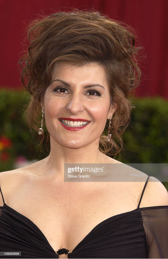 Nia Vardalos during The 75th Annual Academy Awards - Arrivals at The Kodak Theater in Hollywood, California, United States.