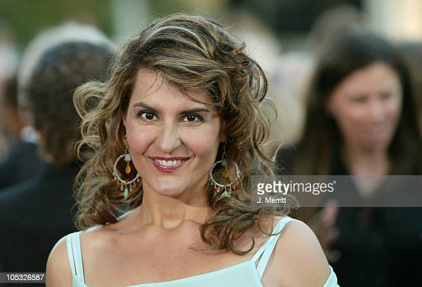 """Nia Vardalos during """"The Manchurian Candidate"""" Los Angeles Premiere at The academy in Beverly Hills, California, United States."""