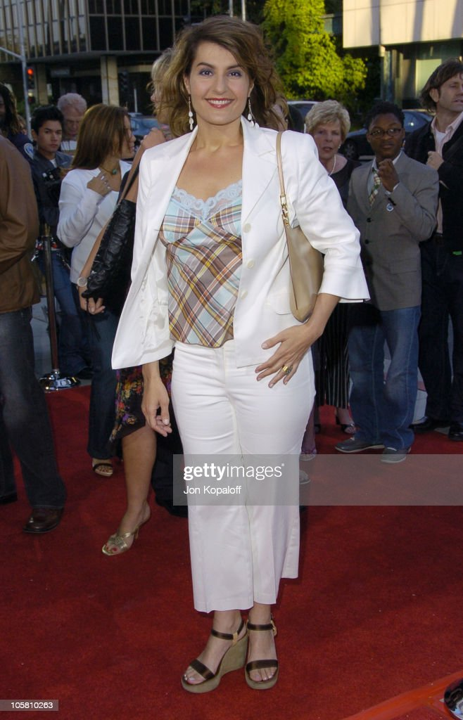 Nia Vardalos during 'The Terminal' World Premiere - Red Carpet at Academy of Motion Picture Arts and Science in Beverly Hills, California, United States.