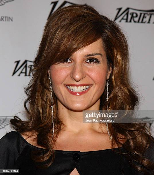 Nia Vardalos during VLIFE and Hermes Host the 1st Annual Oscar Contenders Party in Partnership with Aston Martin and Absolut at Hermes Boutique in...