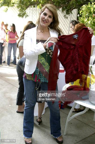 Nia Vardalos during W Hollywood Yard Sale Presented by W Magazine and Guess to Benefit Clothes Off Our Back in Brentwood, California, United States.