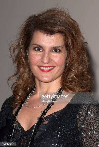 Nia Vardalos during Women In Film and General Motors Announce an Innovative Alliance Arrivals at Globe Theatre at Universal Studios in Universal City...
