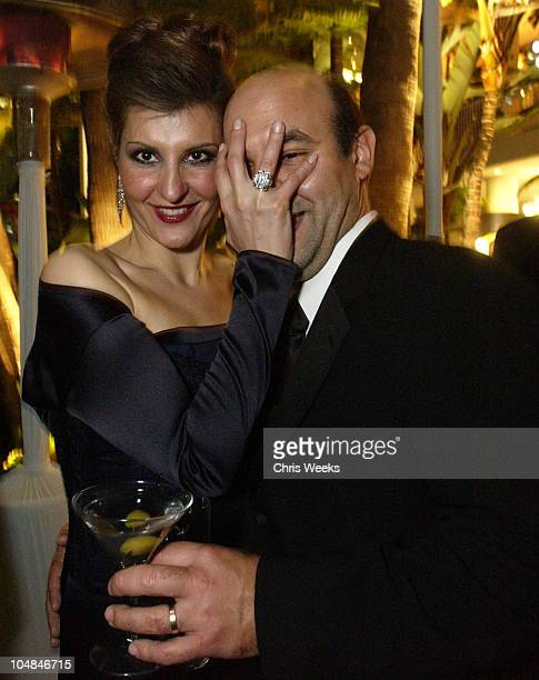 Nia Vardalos husband Ian Gomez during HBO Golden Globes Party at Beverly Hilton in Beverly Hills California United States