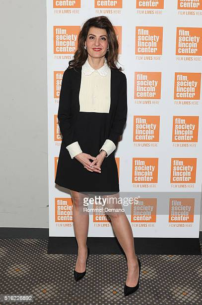 Nia Vardalos in Conversation at The Film Society of Lincoln Center on March 17 2016 in New York City