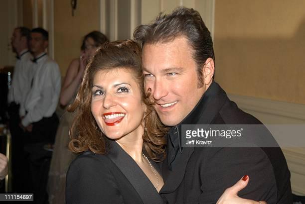 Nia Vardalos & John Corbett during The 29th Annual People's Choice Awards at Pasadena Civic Center in Pasadena, CA, United States.