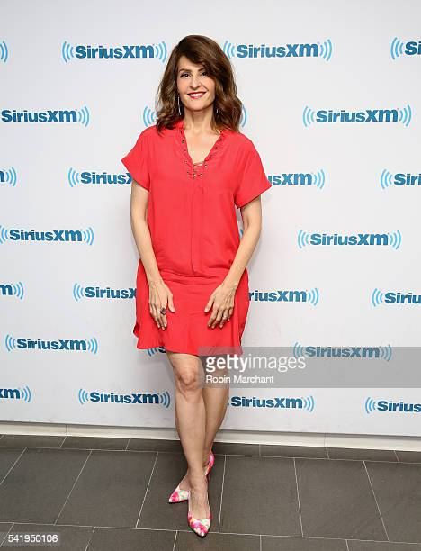 Nia Vardalos visits at SiriusXM Studio on June 21 2016 in New York City