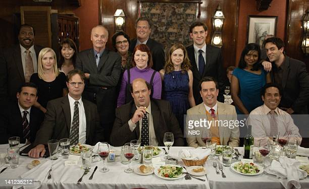 THE OFFICE Niagara Episode 604/605 Pictured Leslie David Baker as Stanley Hudson Angela Kinsey as Angela Martin Ellie Kemper as Kelly Erin Hannon...