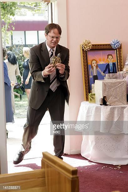 THE OFFICE Niagara Episode 604/605 PicturedRainn Wilson as Dwight Schrute Photo by Byron Cohen/NBC/NBCU Photo Bank