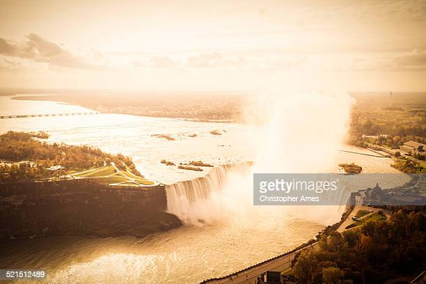 Niagara Falls Aerial View From Canadian Side