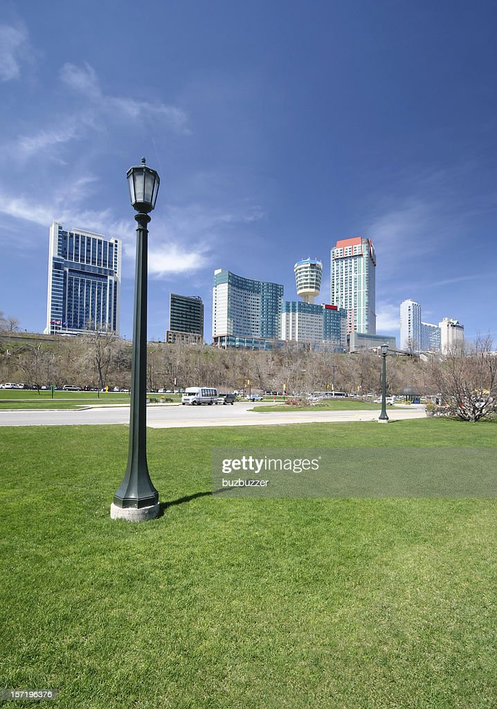 Niagara Falls City : Stock Photo