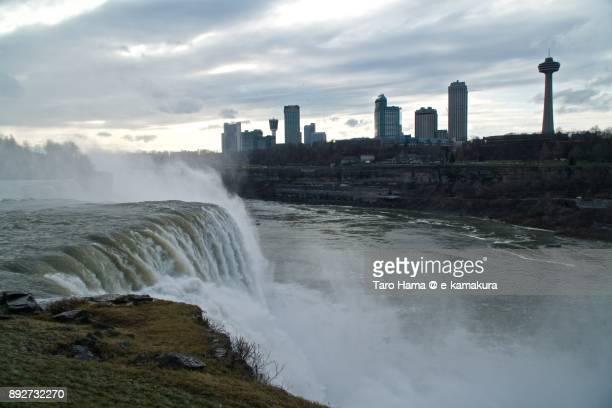 Niagara falls in Buffalo in USA