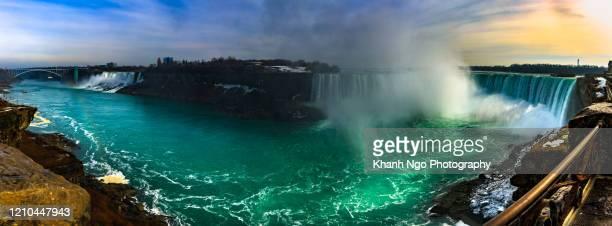 niagara falls in ontario - khanh ngo stock pictures, royalty-free photos & images