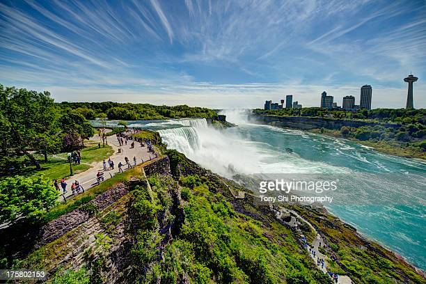 niagara falls - new york state - niagara falls stock pictures, royalty-free photos & images