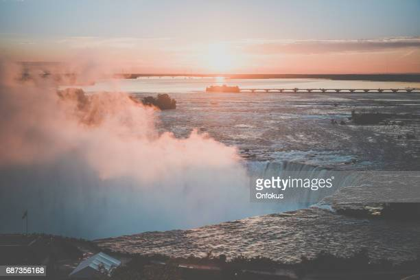 Niagara Falls, Ontario, Canada at Sunrise
