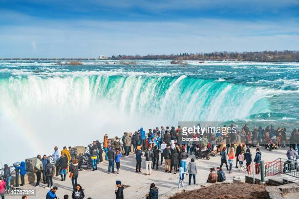 niagara falls ontario canada - niagara falls stock pictures, royalty-free photos & images