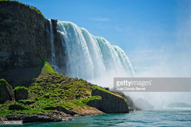 niagara falls - niagara river stock pictures, royalty-free photos & images