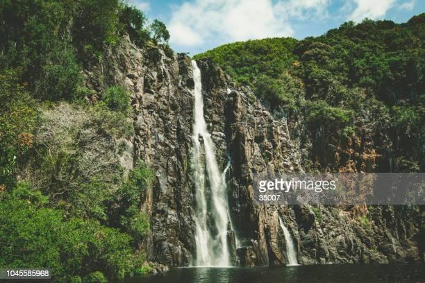 las cataratas del niágara, isla reunión, islas mascareñas, francés territorio de ultramar - isla reunion fotografías e imágenes de stock