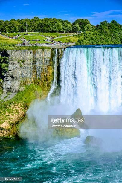 niagara falls us side 2019 - niagara falls stock pictures, royalty-free photos & images