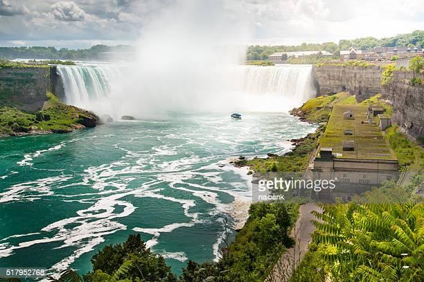 Niagara falls with Niagara cruise