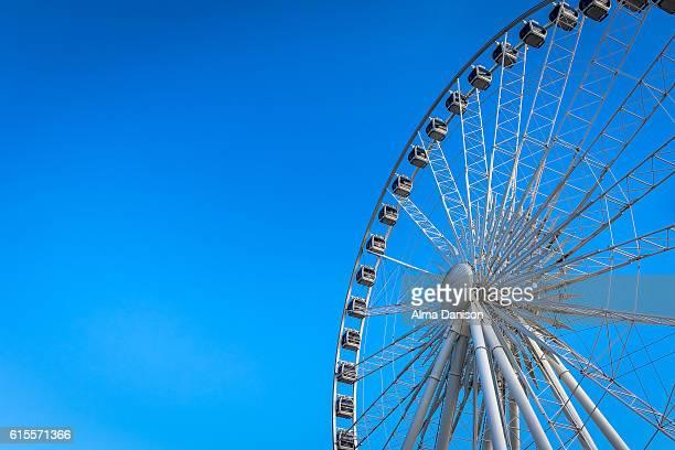 niagara skywheel - alma danison stock photos and pictures