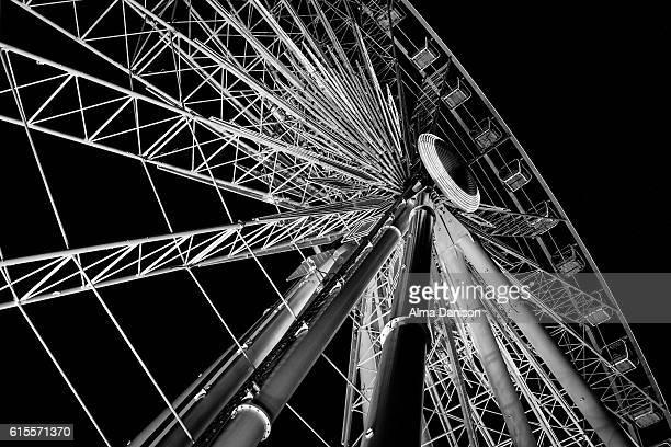 niagara skywheel - alma danison - fotografias e filmes do acervo