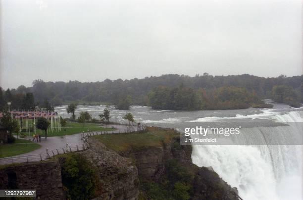 Niagra Falls in Niagra Falls, New York on October 7, 1981.