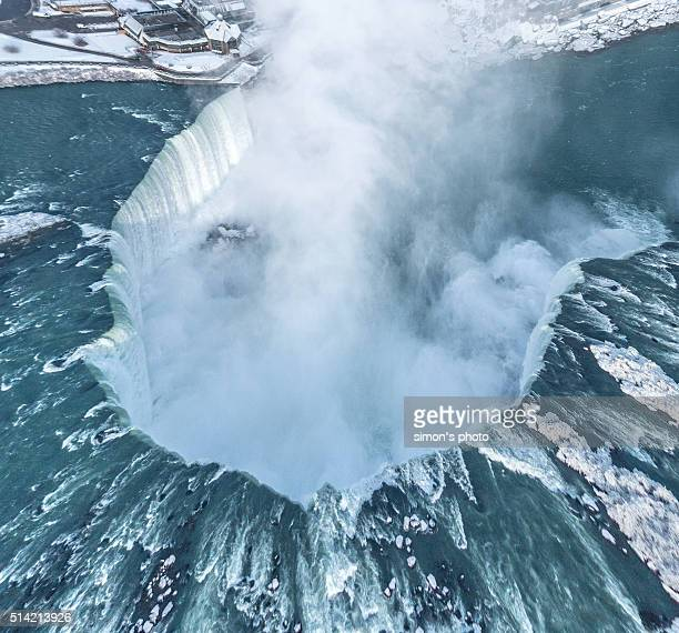 Niagra Horseshoe Falls from above in Winter : Stock Photo      Comp     Embed     Share     Add to Board  Niagra Horseshoe Falls from above in Winter