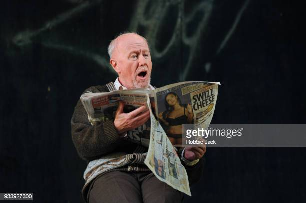 Niall Buggy as Peter Flynn in the Abbey Theatre's production of Sean O' Casey's The Plough and the Stars directed by Sean Holmes at The Lyric...