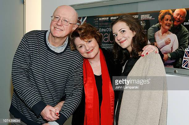 Niall BuggyBrenda Blethyn and Beth Cooke attend the opening night of Haunted at 59E59 Theaters on December 8 2010 in New York City