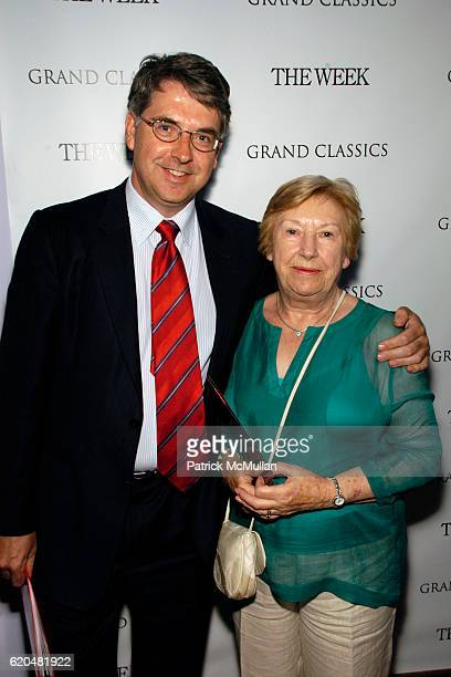 Niall Burgess and Maureen Burgess attend GRAND CLASSICS hosted by Gabriel Byrne sponsored by THE WEEK to benefit FilmAid International at Soho House...